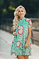 Красивое летнее платье из коттона, фото 1