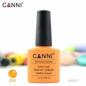 Гель-лак CANNI 250 люминисцентный оранжевый