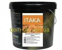 ITAKA- декоративное покрытие для стен с эффектом старых стен, для внутренних стен зданий 15 кг