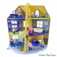 Дом семьи Пеппы игровой набор Peppa домик с мебелью, фигурка пеппы 6384
