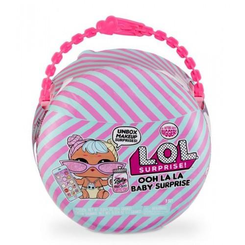 Беби Бон-Бон - игровой набор с куклой L.O.L. SURPRISE! серии Ooh La La Baby Surprise (с аксесс.) 562498