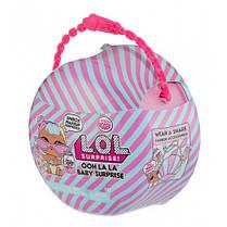Беби Бон-Бон - игровой набор с куклой L.O.L. SURPRISE! серии Ooh La La Baby Surprise (с аксесс.) 562498, фото 3