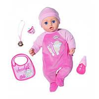 Моя Маленькая Принцесса 43 см, С Аксессуарами, Озвучена интерактивная Кукла Baby Annabell Zapf 794999