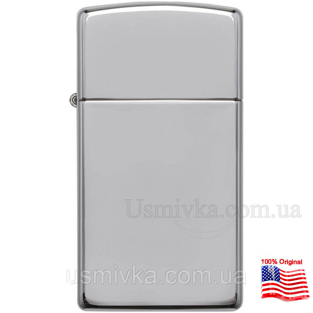 Зажигалка Zippo 1610 HIGH POLISH CHROME серая 1610