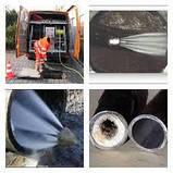 Прочистка труб канализации, устранение засоров., фото 3