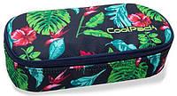 Пенал школьный CoolPack CAMPUS B62016, с растительным узором