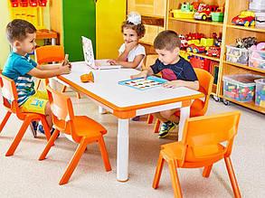 Стул детский Irak Plastik Jumbo №1 (оранжевый), фото 2