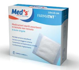 FARMATNT Нетканая абсорбирующая повязка стерильная 10x10см