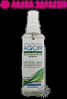 Дезодорант мужской CRYSTAL MAN, 100 мл, AGOR