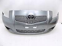 Б/у Бампер передній Toyota Yaris 2006-2015р, фото 1