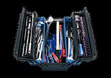Ящик переносной с инструментом 68 предметов темный KING TONY 9A05-068MR-KB (Тайвань)