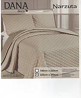 Однотонное покрывало на кровать двухспальное 180-240