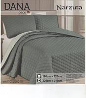 Однотонное покрывало на кровать двухспальное