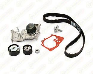 Комплект натяжитель + ролик + ремень на Renault Megane III 09->16 1.6 16V— Renault (Оригинал) - 119A04687R