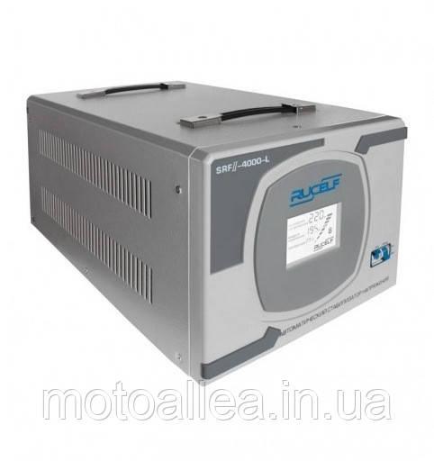 Стабилизатор напряжения RUCELF SRF II-4000-L - Мото-Аллея. Продажа сельхозтехники, мототехники и садовой техники в Днепре