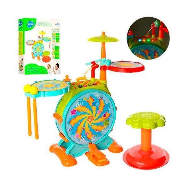 Игрушка Hola Toys Барабанная установка (666)
