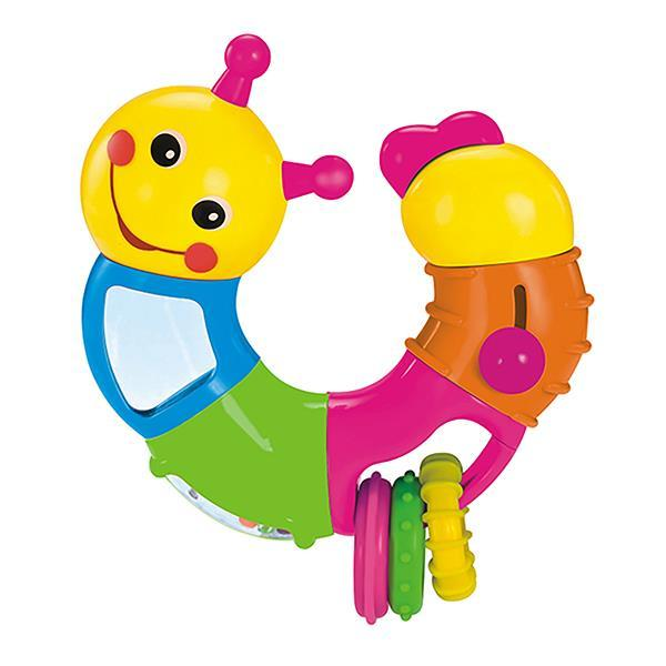 Погремушка Hola Toys Веселый червячок (786B)