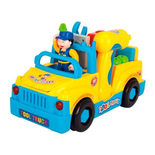 Игровой набор Hola Toys Машинка с инструментами (789)