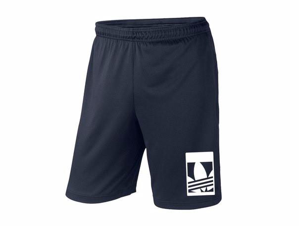 Мужские хлопковые шорты Adidas