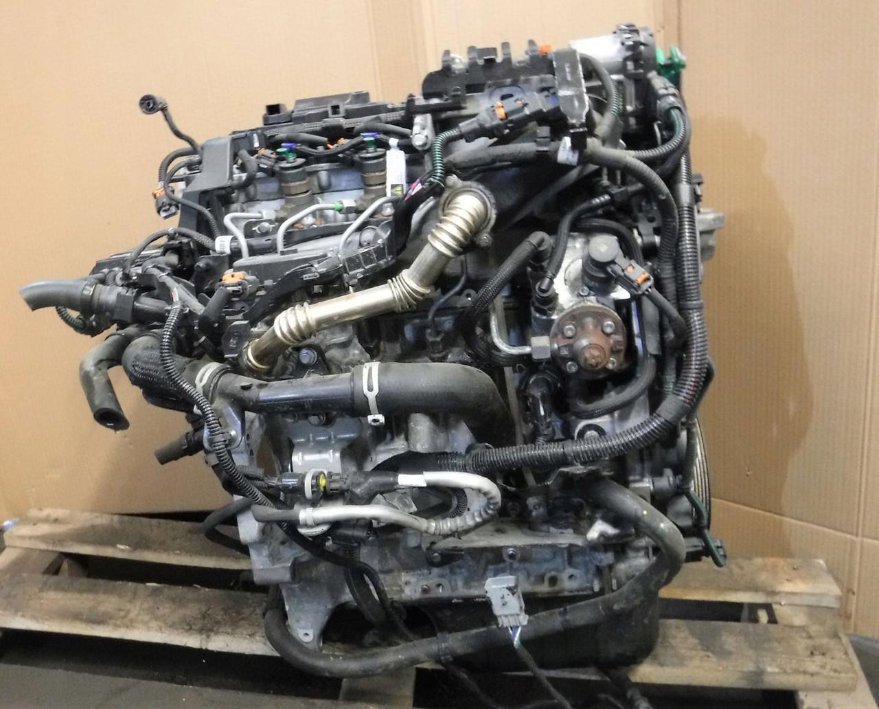 Б/у Двигун Citroen C4 Picasso 2010-2016р