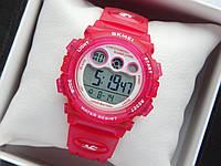 Водонепроницаемые детские спортивные наручные часы   - красного цвета, фото 1