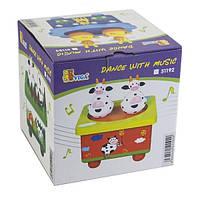 Музыкальная игрушка Viga Toys Танцующие коровки (51192)