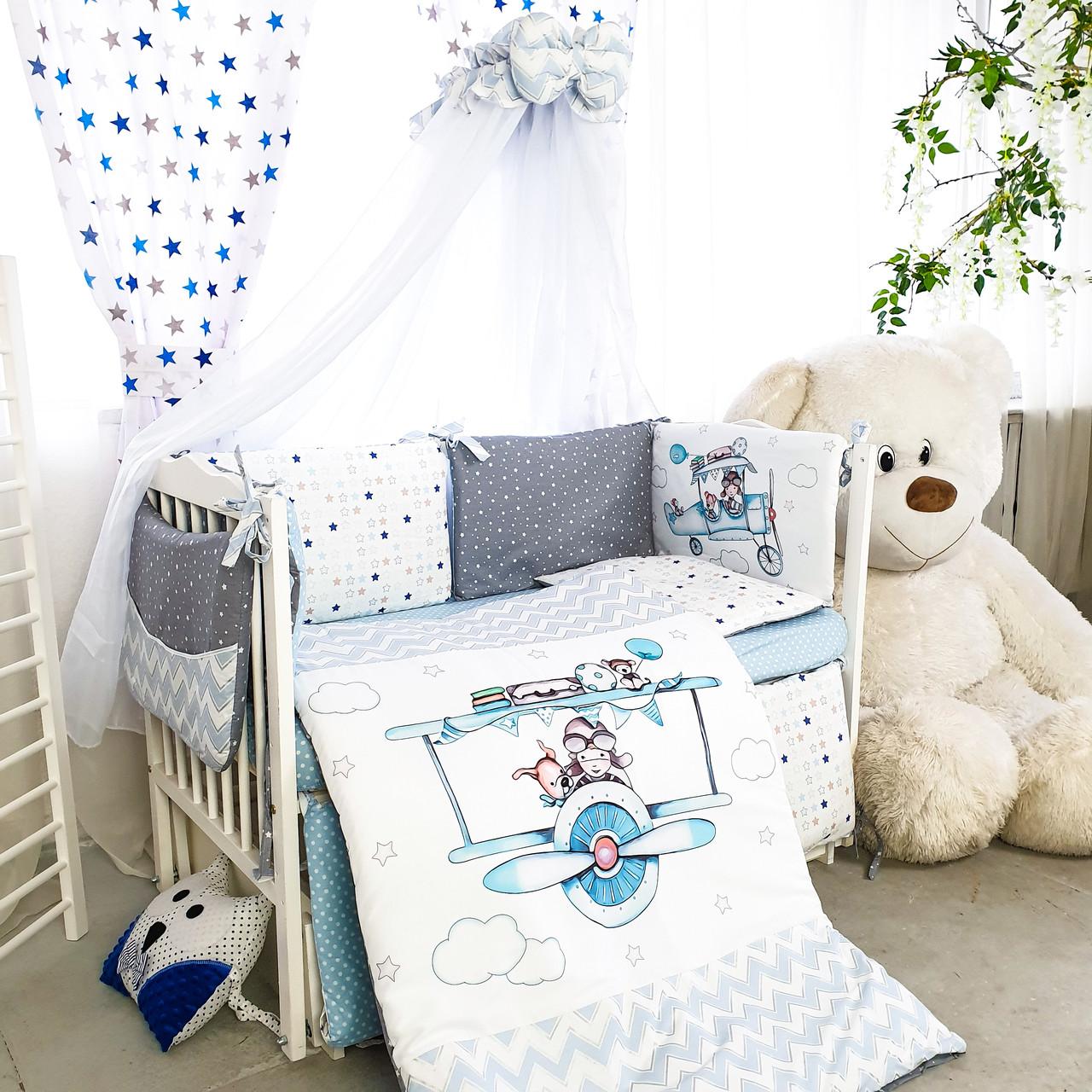 Комплект детского постельного белья Акварели 1
