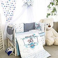 Комплект детского постельного белья Акварели 1, фото 1