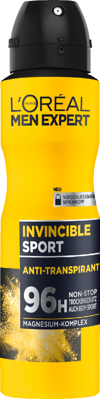 Дезодорант-спрей для мужчин L'ORÉAL Men Invincible Sport, 150 мл.