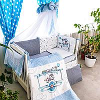 Комплект дитячої постільної білизни Акварелі 5, фото 1