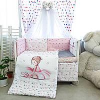 Комплект детского постельного белья Акварели 7, фото 1