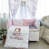 Комплект детского постельного белья Акварели 8, фото 1