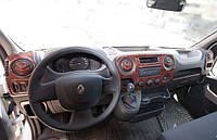 Декор салона под карбон Renault Master 3 (2012-2019)
