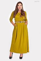 Платье Алабама (горчица)