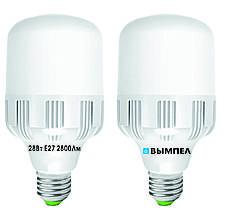 Cветодиодная лампа Т75, 28Вт, Е27, 6000К