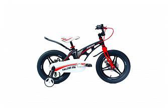 """Велосипед детский ARDIS FALCON 16"""" колеса на литых дисках и магниевой раме Черно-красный"""