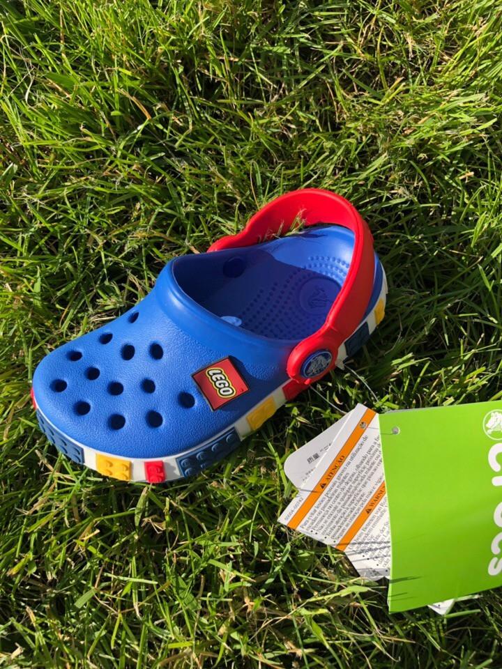 Кроксы детские Crocs LEGO. Летние сабо, сандали. ТОП КАЧЕСТВО !!!