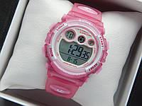 Водонепроницаемые детские спортивные наручные часы Skmei 1451 розового цвета, фото 1