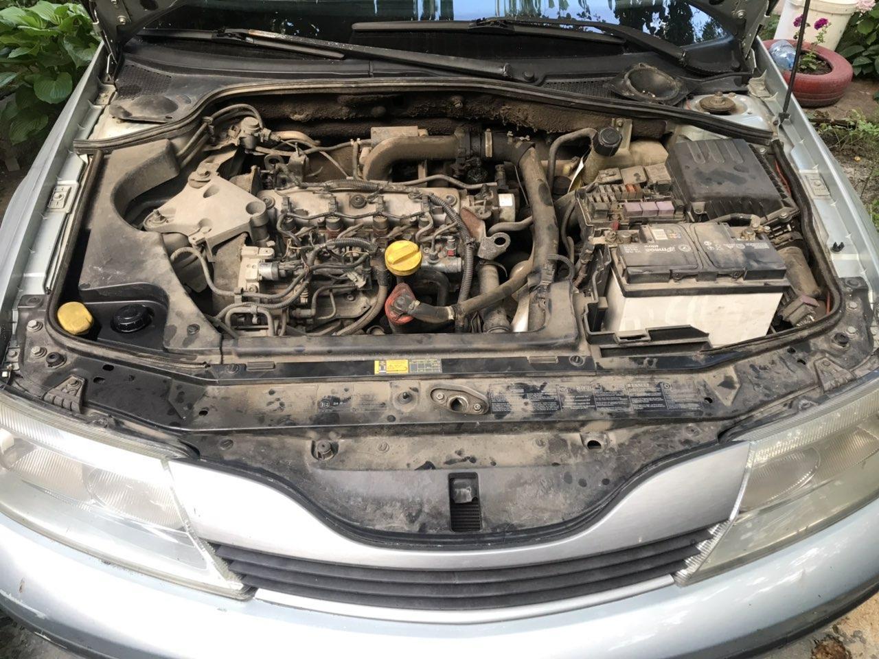 Запчасти двигателяF9K/F9Q1,9 dСi с автомобилей Renault Laguna 2