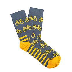 Носки женские Dodo Socks Rover 36-38 Сине-желтые