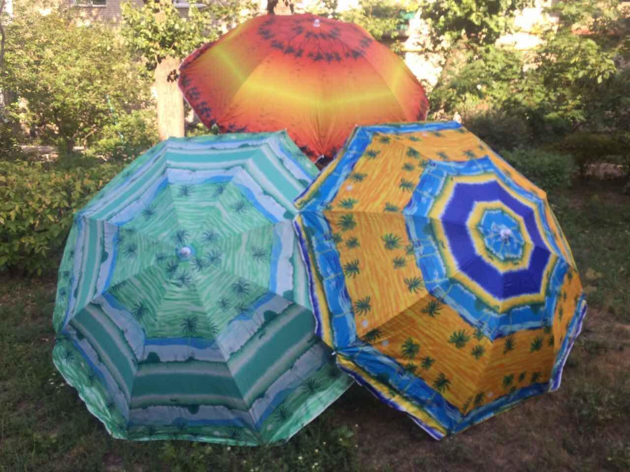Зонт пляжный  с наклоном Anti-UV 1,8 м