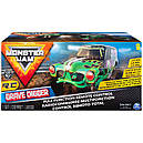 Машина на радиоуправлении джип Монстр трак 1:24 Monster Jam Official Grave Digger Remote Control Monster, фото 5