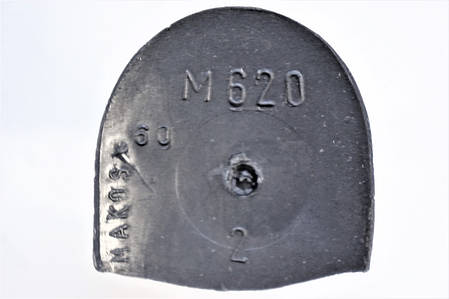 Каблук женский пластиковый 620 р.2  h-6.3 см., фото 2