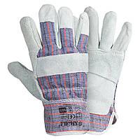 Перчатки комбинированные замшевые Sigma 9448321, фото 1