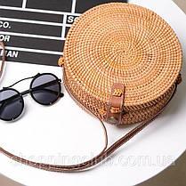 Ротанговая плетенная сумка