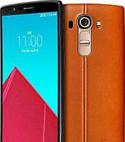 Бронированная защитная пленка для LG G4 (Genuine Leather Brown)
