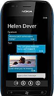 Бронированная защитная пленка для экрана Nokia Lumia 710