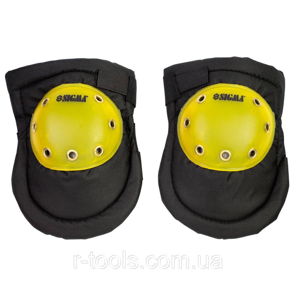 Наколенники защитные Spectrum ПВХ чашка Sigma 9462201