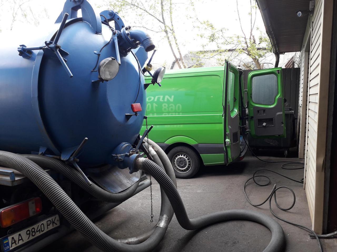 Выкачка туалетов Киев,чистка биотуалетов