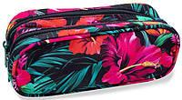 Пенал CoolPack CLEVER B65039, с цветочным принтом